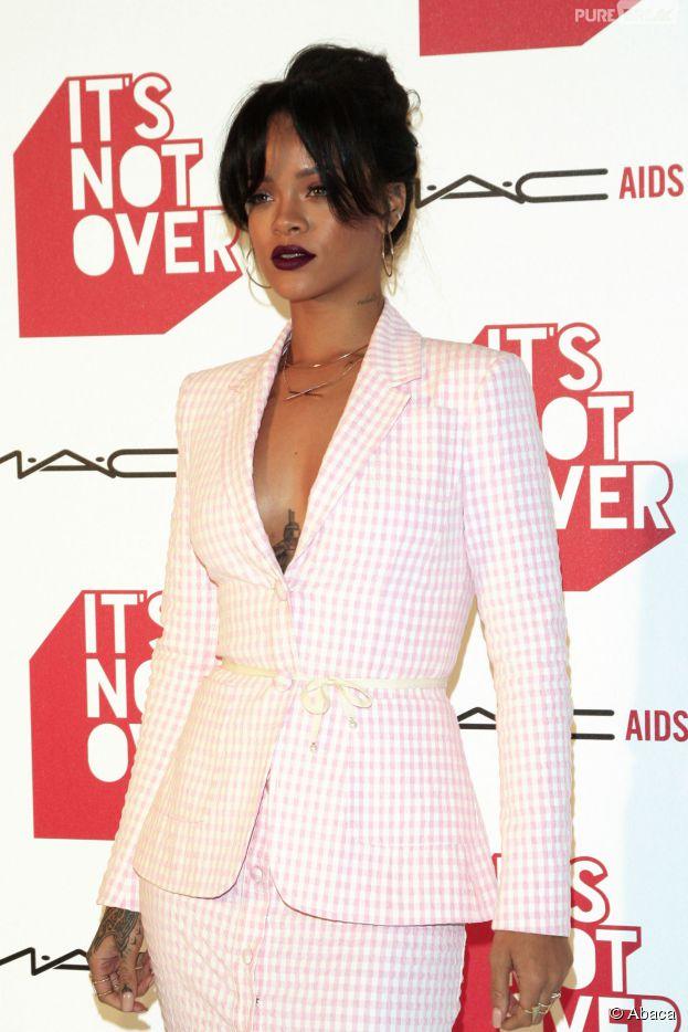 Rihanna à la projection du documentaire It's not over, le 18 novembre 2014 à Los Angeles