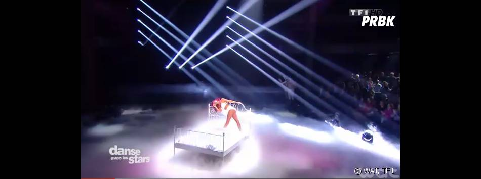 Shy'm sexy pour L'Effet de serre dans Danse avec les stars 5, le 15 novembre 2014 sur TF1