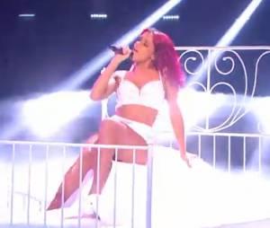 Shy'm : prestation hot dans Danse avec les stars 5 sur TF1, le 15 novembre 2014