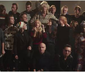 Band Aid 30 : le clip de Do They Know It's Christmas ?