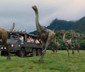 Jurassic World : première bande-annonce avec Chris Pratt et Bryce Dallas Howard