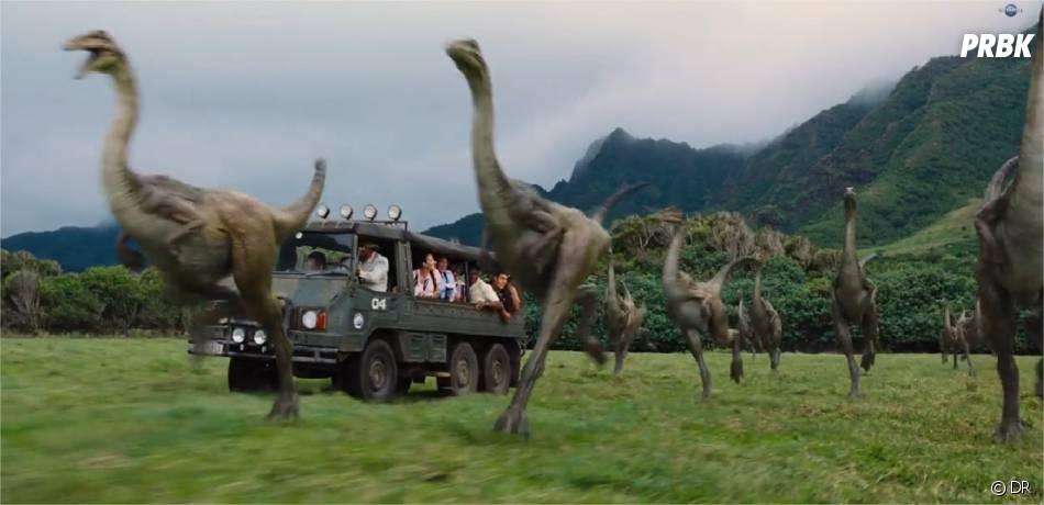 Jurassic World : les dinosaures se dévoilent dans le teaser