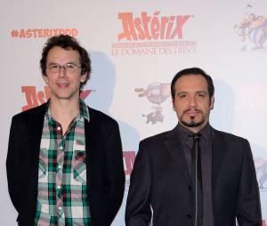 Astérix - Le Domaine des Dieux : Alexandre Astier et Louis Clichy lors de l'avant-première du 23 novembre 2014