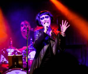 Sandrine Quétier : rockeuse de choc avec son groupe The Jokers au Bus Palladium, le 27 novembre 2014