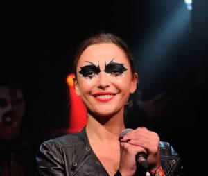 Sandrine Quétier : rockeuse de choc avec son groupe The Jokers au Bus Palladium, le 27 novembre 2014