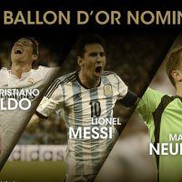 Ballon d'Or 2014 : Lionel Messi, Cristiano Ronaldo et Manuel Neuer sont les 3 finalistes
