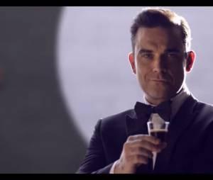 Robbie Williams : nouvelle mascotte de la marque de capsules Café Royal