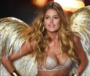 Doutzen Kroes au Victoria's Secret Fashion Show 2014, le 2 décembre 2014 à Londres