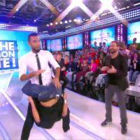 """La Fouine et Fauve Hautot : danse sexy du """"tambour fesses"""" dans TPMP"""