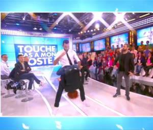 La Fouine et Fauve Hautot ont dansé ensemble dans TPMP, le 3 décembre 2014