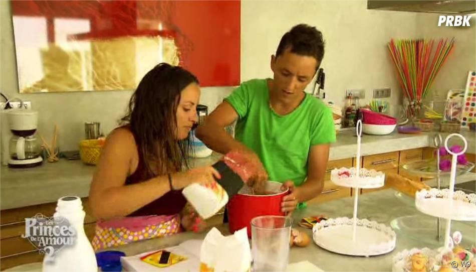 Les Princes de l'amour 2 : Arthur donne un cours de cuisine à Laura