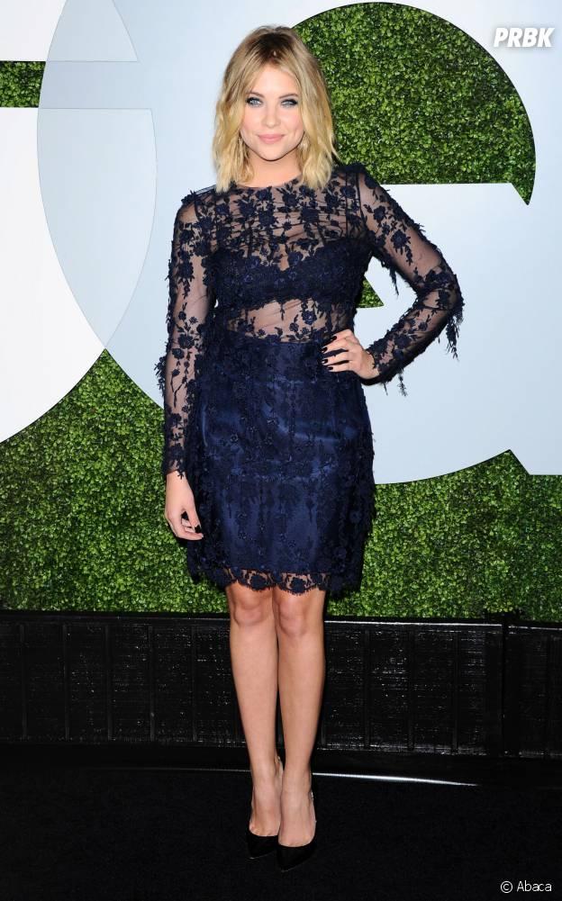 Ashley Benson à la soirée GQ Men of the Year le 4 décembre 2014