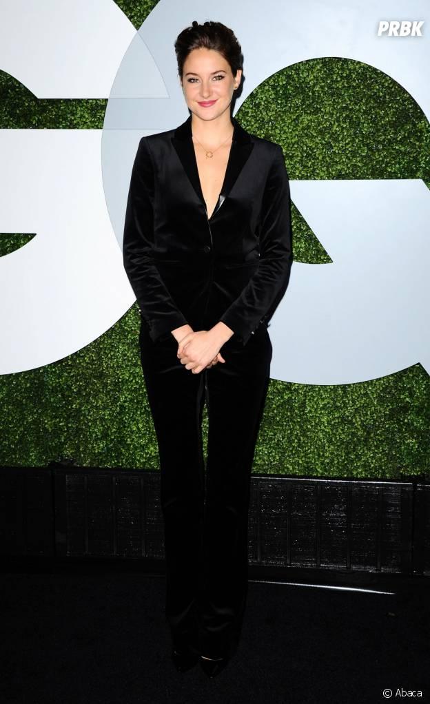 Shailene Woodley à la soirée GQ Men of the Year le 4 décembre 2014
