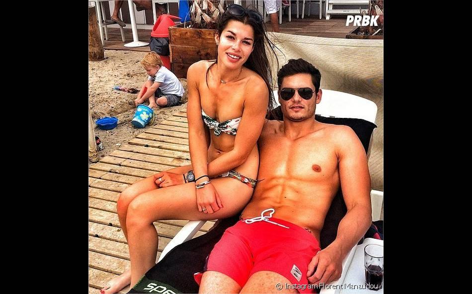 Florent Manaudou et sa petite-amie Fanny Skalli sexy sur les réseaux sociaux