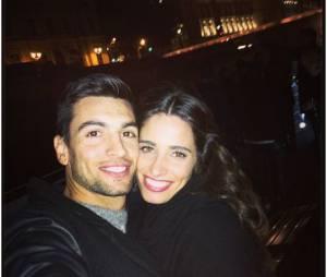 Javier Pastore et sa copine Chiara Picone amoureux sur Instagram