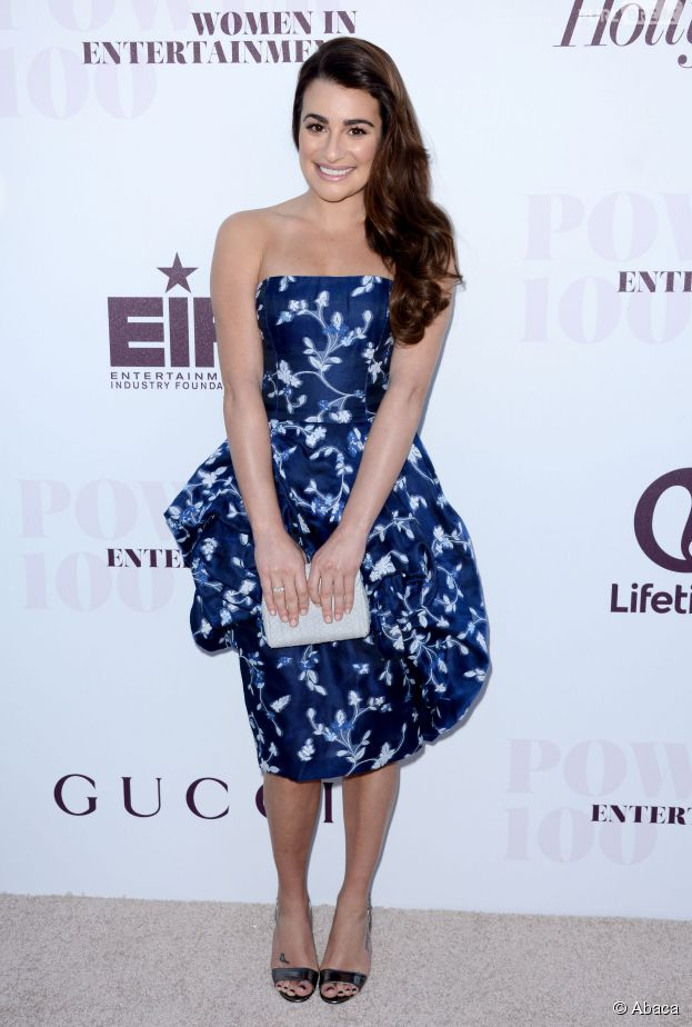 "Lea Michele au petit-déjeuner ""Hollywood Reporter's Power 100 Women in Entertainment"" le 10 décembre 2014 à Los Angeles"