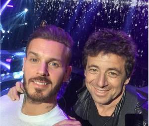 M.Pokora et Patrick Bruel en duo au programme de la cérémonie des NMA 2014 sur TF1, le 13 décembre 2014