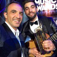 Nikos Aliagas : Stromae, Kendji, 1D... ses photos Instagram avec les stars des NMA 2014