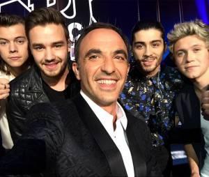 NRJ Music Awards 2014 : Nikos Aliagas et les One Direction