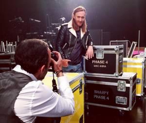 NRJ Music Awards 2014 : Nikos Aliagas et David Guetta