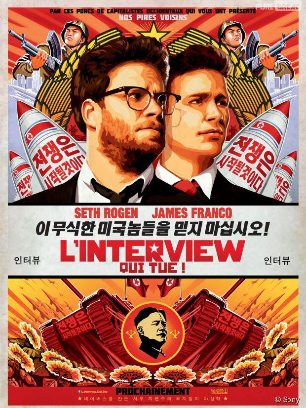 """James Franco et Seth Rodgen : leur nouveau film, L'interview qui tue"""", retiré des salles de cinéma suite à des menaces terroristes ?"""