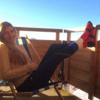 Camille Cerf : Miss France 2015 s'offre des vacances au ski