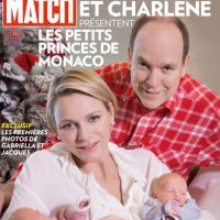 Charlène de Monaco maman : première photo de ses jumeaux avec le Prince Albert II