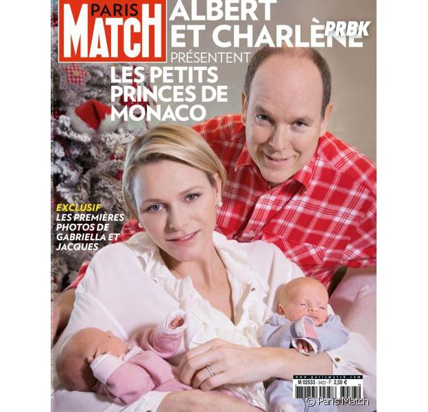 Charlène de Monaco et le Prince Albert II présentent leurs jumeaux