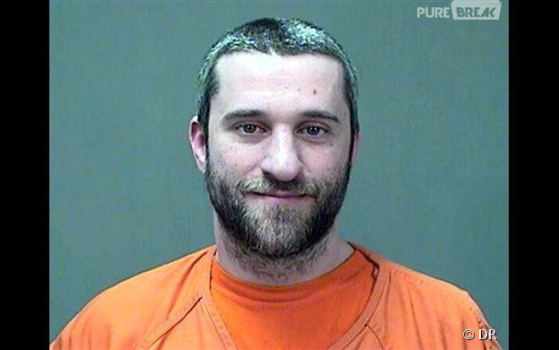 Dustin Diamond : le mugshot de l'acteur après son arrestation pour agression avec une arme blanche.