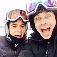 Ian Somerhalder et Nikki Reed : vacances au ski en amoureux et en famille