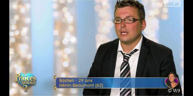 Bastien (Les Princes de l'amour 2) dans l'épisode du 1er janvier 2015 sur W9