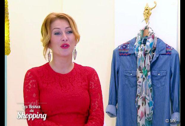 Gaëlle (Les Ch'tis) gagnante des Reine du shopping lors de la finale du 14 janvier 2015, sur M6