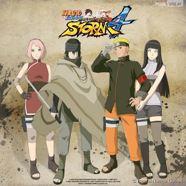 Naruto Ultimate Ninja Storm 4 Naruto Sasuke Et Sakura