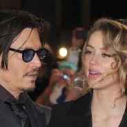 """Johnny Depp et Amber Heard complices sur le tapis rouge... pour démentir leur """"rupture"""""""