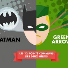 Arrow : les 12 points communs entre Bruce Wayne (Batman) et Oliver Queen en infographie