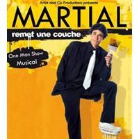Martial (Nouvelle Star 2015) : ex-humoriste, il a fait la 1ère partie de Gad Elmaleh