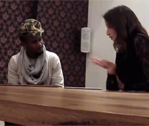 Black M interviewé avec Malika Ménard