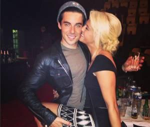 Katrina Pachett et Valentin D'Horre complices sur Instagram, le 26 octobre 2014