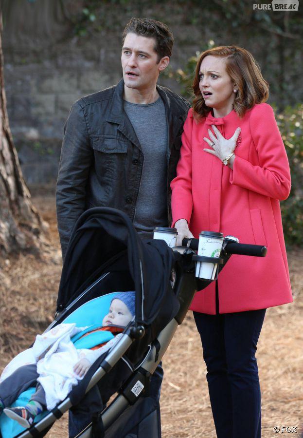 Glee saison 6, épisode 7 : Jayma Mays (Emma) de retour aux côtés de Matthew Morrison (Will)