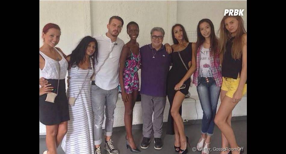 Les Anges 7 : Barbara Lune, Jessica, Raphaël et Somayeh prennent la pose après un rendez-vous pro