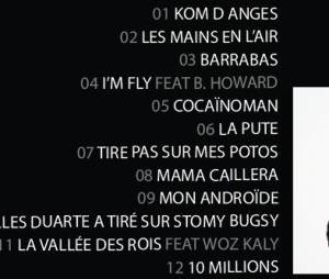 "Stomy Bugsy : la tracklist de son album solo ""Royalties"""