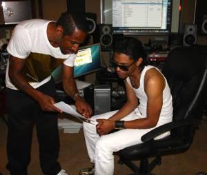 """Stomy Bugsy, en duo avec B. Howard, le fils présumé de Michael Jackson pour son album solo """"Royalties"""""""