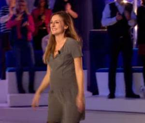 Camille Chamoux : baby-bump sur France 2