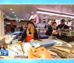 """Enora Malagré en poissonnière dans """"le meilleur des 4/3"""" de Jean-Luc Lemoine"""