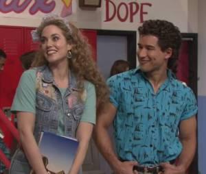 Sauvés par le gong :Mario Lopez et Elizabeth Berkley ont repris leur rôle pour un sketch de Jimmy Fallon