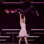 Alison Wheeler et Monsieur Poulpe parodient Dirty Dancing dans Le Grand Journal