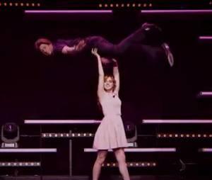 Alison Wheeler et Monsieur Poulpe refont Dirty Dancing dans Le Grand Journal, le 4 février 2015 sur Canal Plus