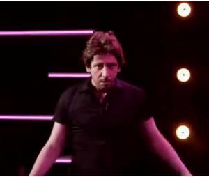 Monsieur Poulpe se prend pour Johnny Castle de Dirty Dancing, le 4 février 2015 dans Le Grand Journal