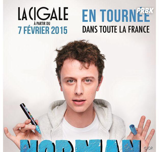 Norman Thavaud sur scène : à la Cigale et en tournée en 2015