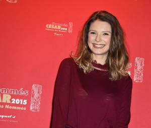 Joséphine Japy au déjeuner des nommés des César 2015 le 7 février à Paris